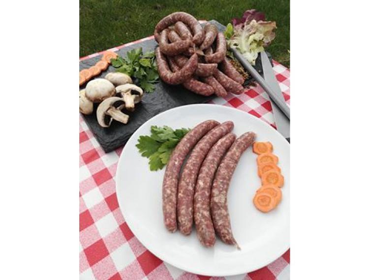 Saucisses de veau par 6 (480 g)