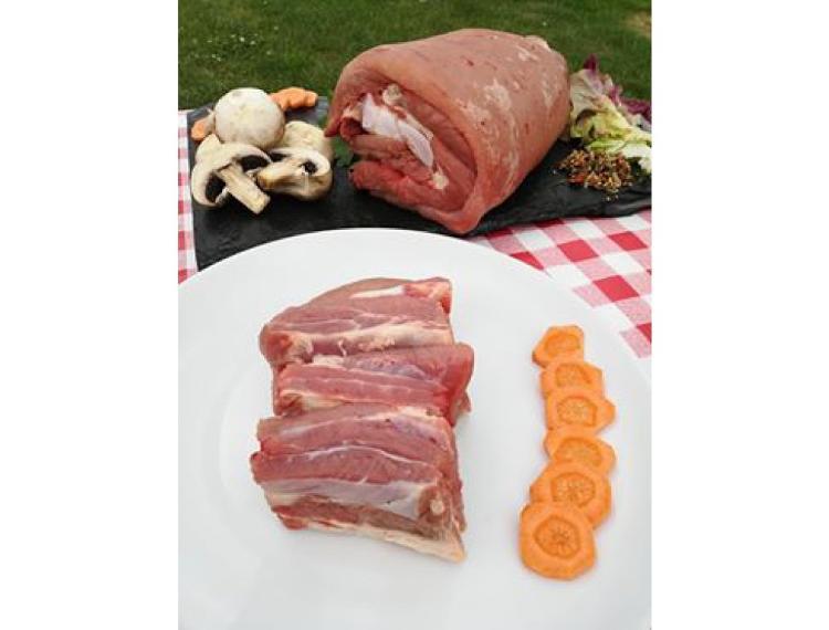 Blanquette de veau avec os * (500g)