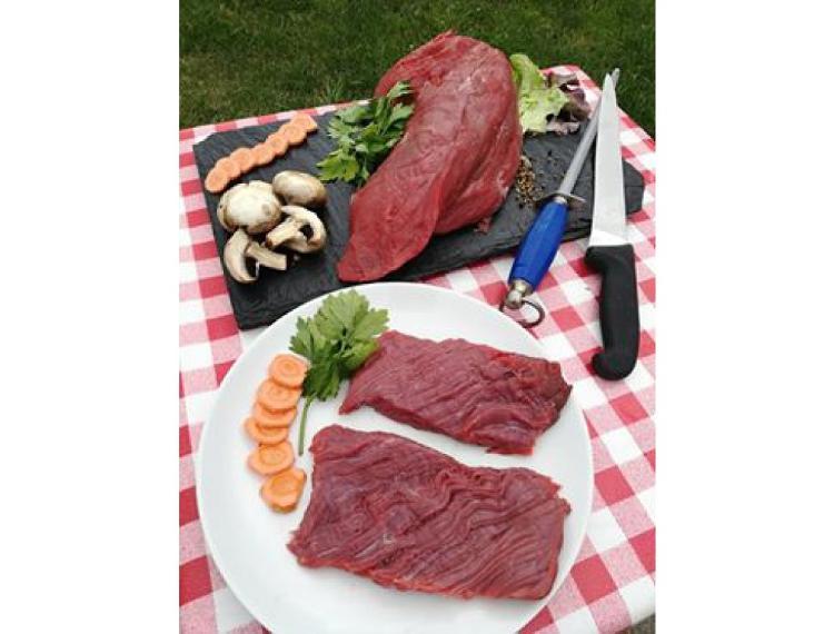 Steaks de b½uf *** par 2 race blanc bleu (300 g)