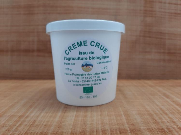 Crème crue - Ferme fromagère du Pays de Pail