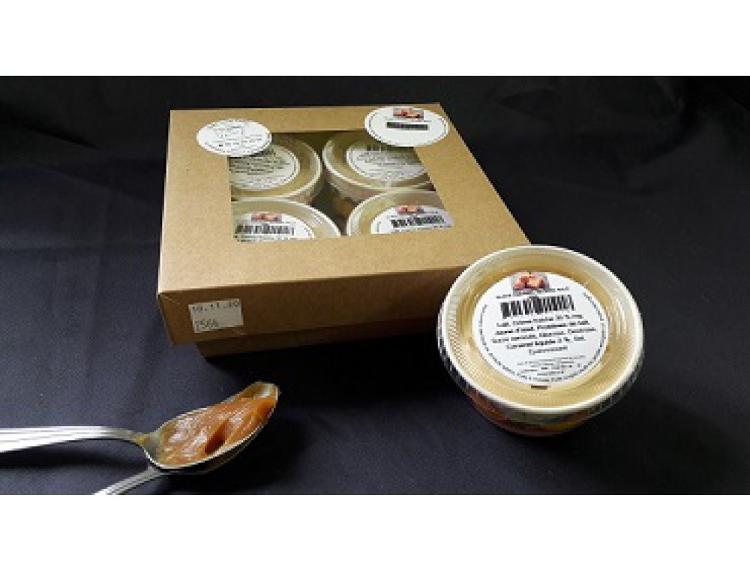 Pot 70ml Glace Caramel Beurre Salé par lot de 4