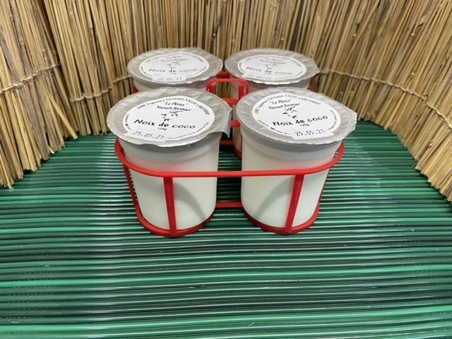 4 Yaourts noix de coco - Le Péras