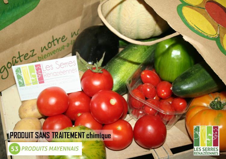 Caissette Gourmande de légumes