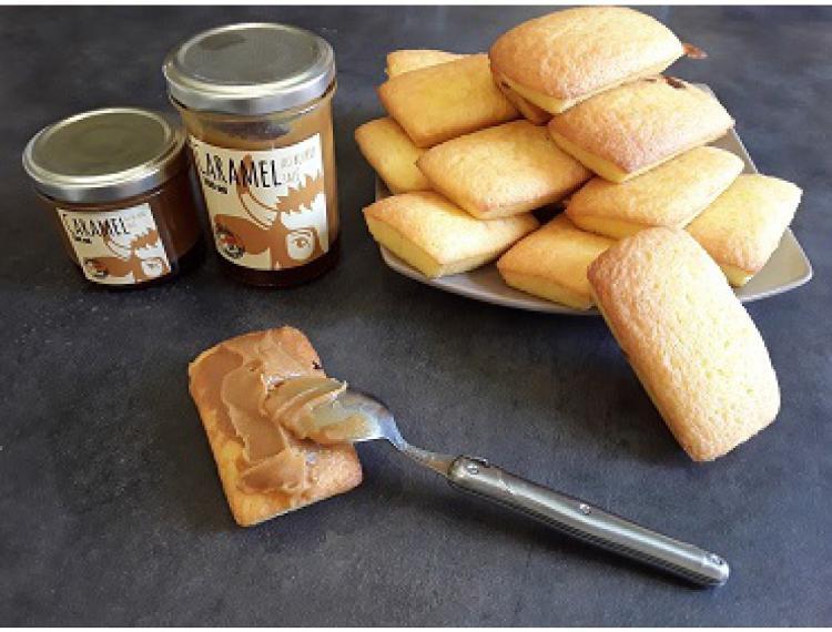 Caramel au beurre salé 130 ml - La Ferme des Vallées