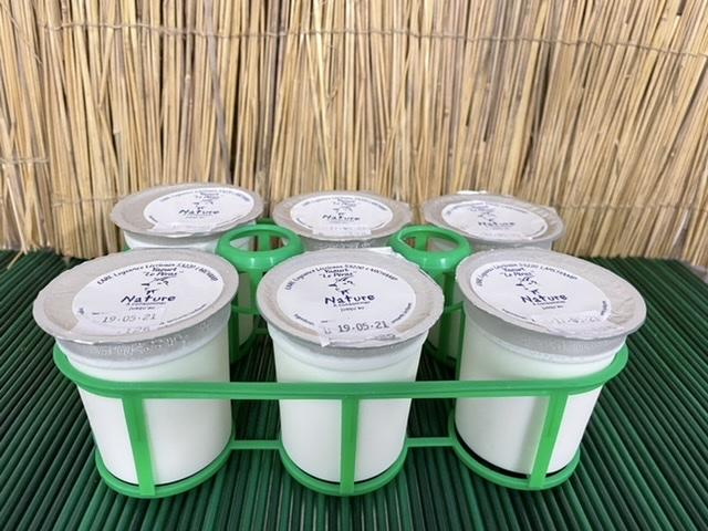 6 yaourts nature - Le Péras