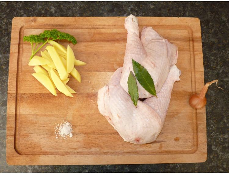 Cuisse de poulet x 1 350 g - La Ferme de la Mancellière