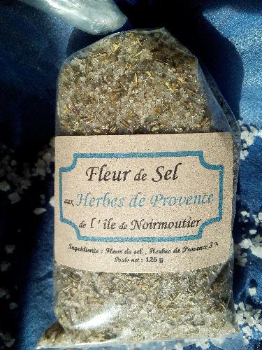 Fleur De Sel - Herbes De Provences - 125g