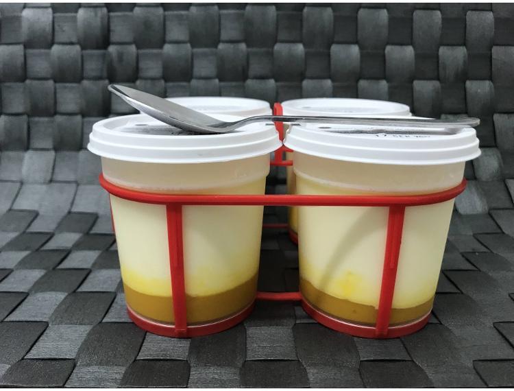 """yaourt lit de mangue """"Le Péras"""""""