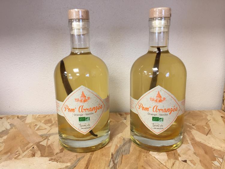 Pom'Arrangée Orange-Vanille 35cl