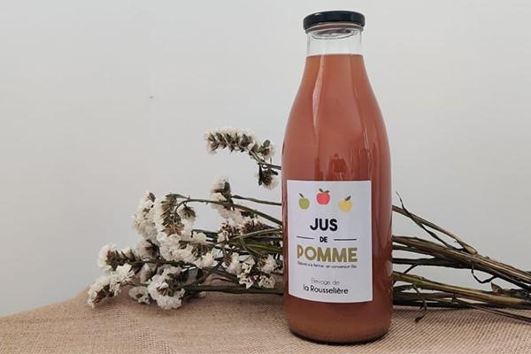 jus de pomme ( conversion bio) , 1l