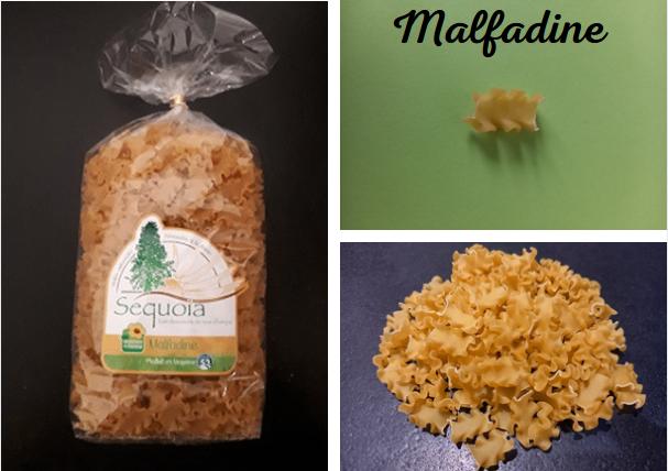 Pâtes malfadine