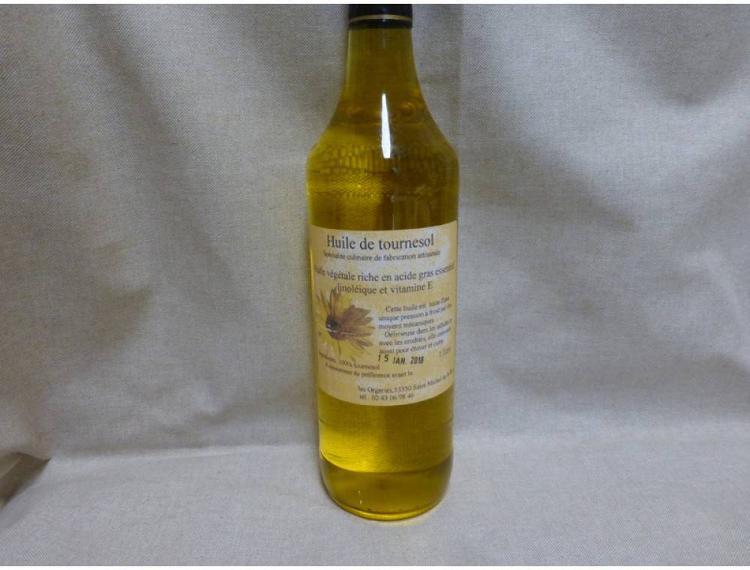 Huile de tournesol (1000 ml)