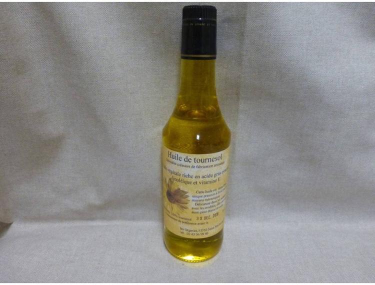 Huile de tournesol (500 ml)