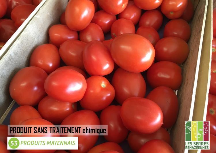 Tomate ROMA de pleine terre - 0.500kg