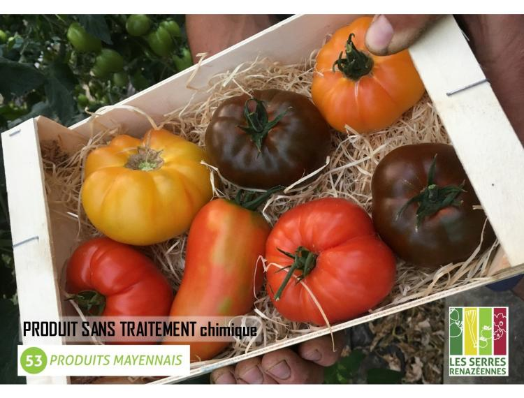 Assortiment : Tomates variétés anciennes