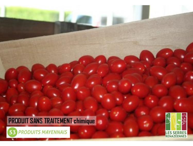 Tomate cerise Rouge - les 250g