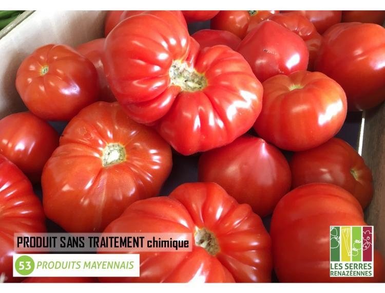 Tomate coeur de boeuf de pleine terre - 1kg