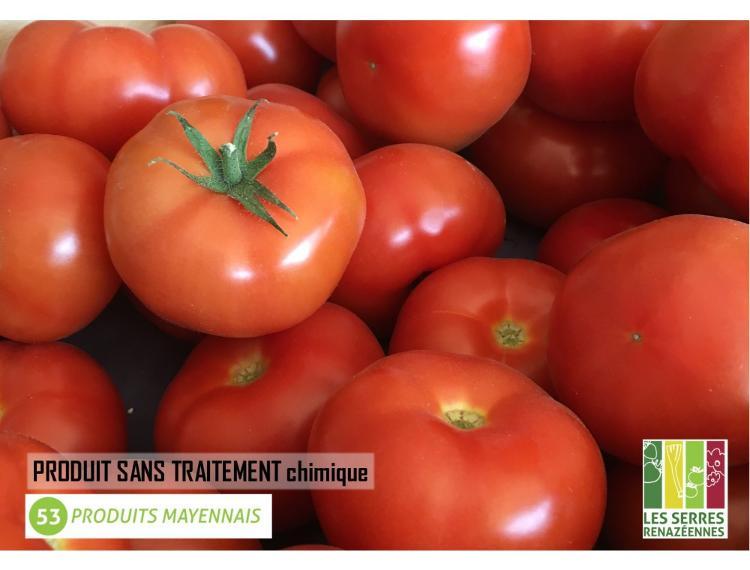 Tomate ronde de pleine terre - 0.500kg