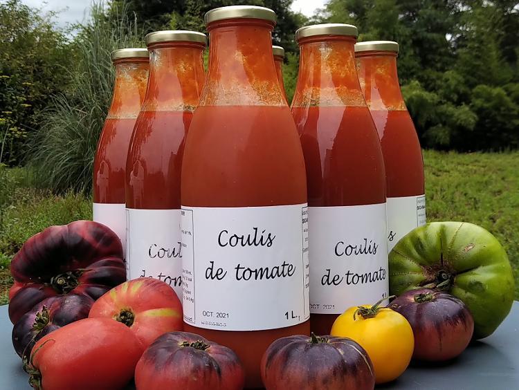 Coulis de tomate bio 75cL