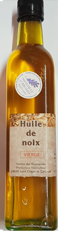 Huile de noix vierge (500 mL)
