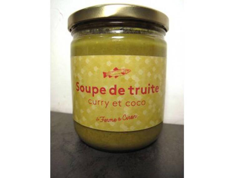 Soupe de Truite Coco Curry 370g
