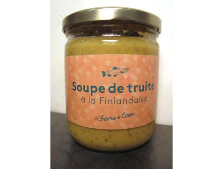 Soupe de Truite à la Finlandaise 370g