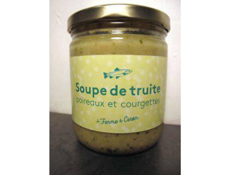 Soupe de Truite Poireaux Courgettes 370g