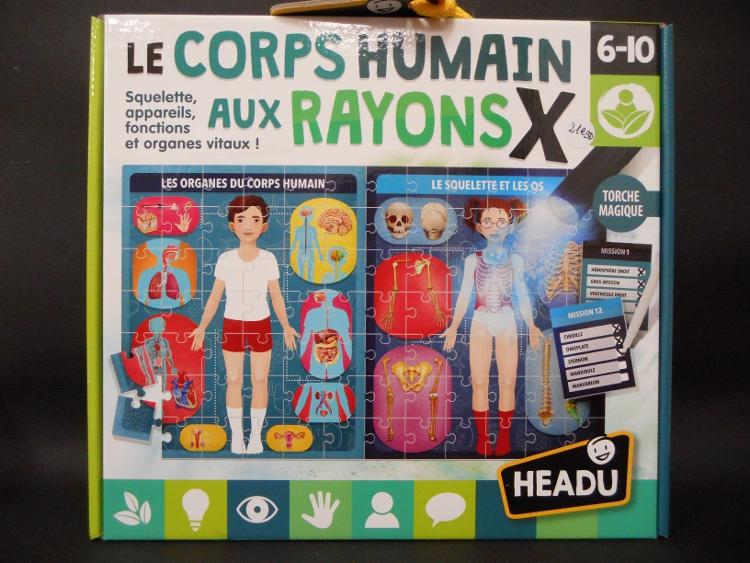 Le Corps Humains Aux Rayons X !