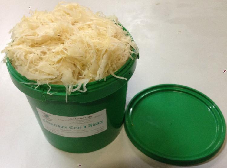 Choucroute Crue d'Alsace 2 kg
