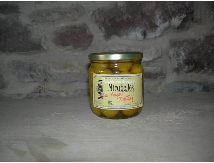 fruits au sirop -Mirabelles 425 ml