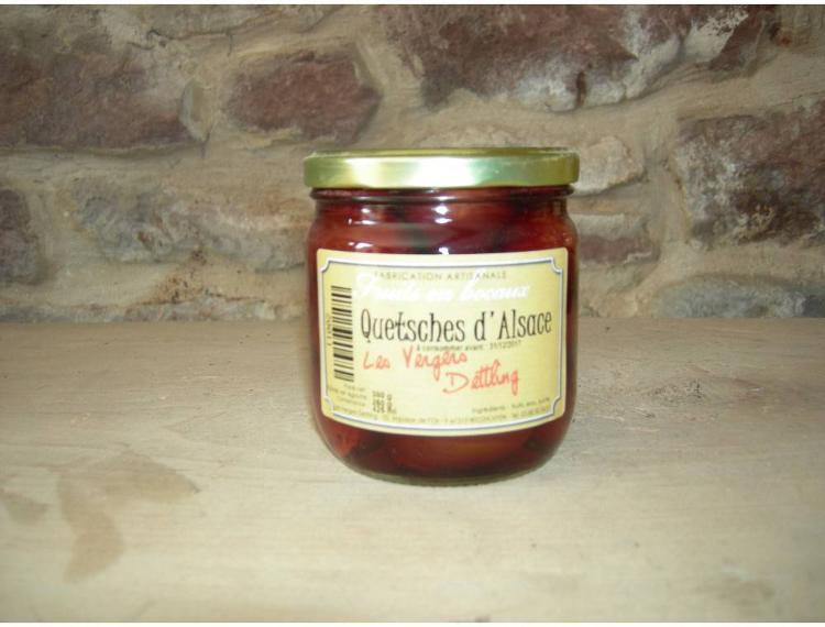fruits au sirop -Quetsches d'Alsace 425 ml