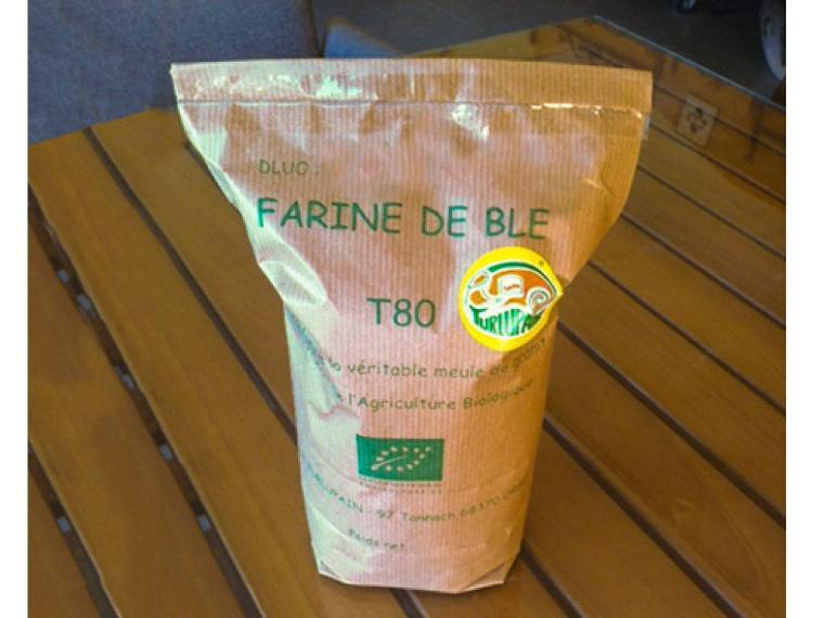 2kg Farine de blé T80 bio