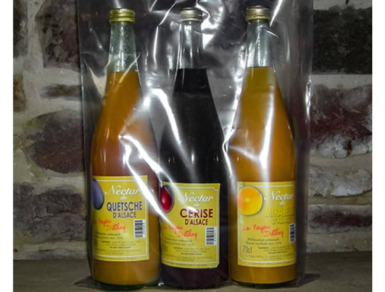 coffret de 3 Nectars Cerises-Mirabelles-Quetsches