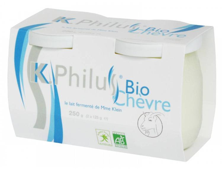 12 Kphilus au lait entier de chèvre - BIO