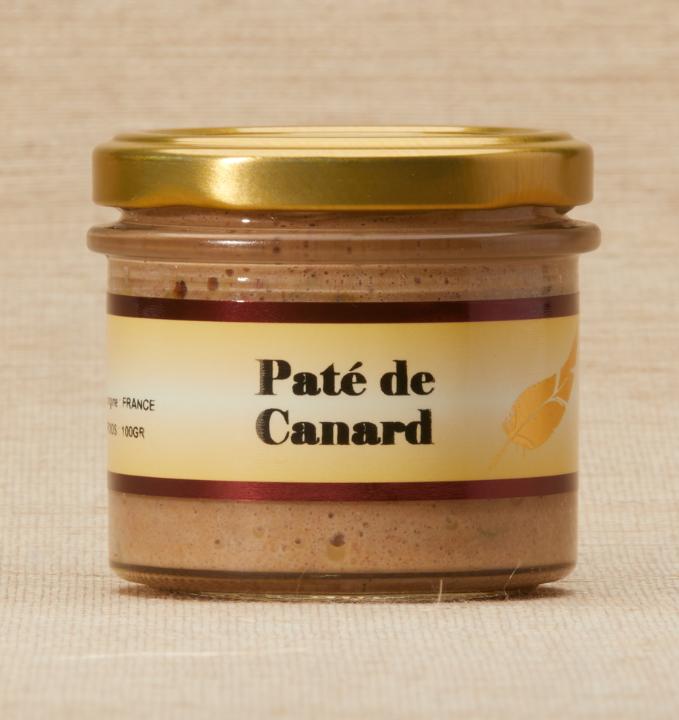 Pâté de Canard Bocal 100g