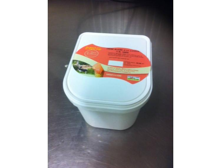 Glace Vanille 2.5L 1850g
