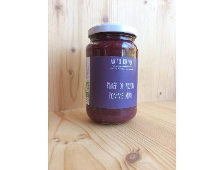 Purée de fruits BIO - Pomme Mûre