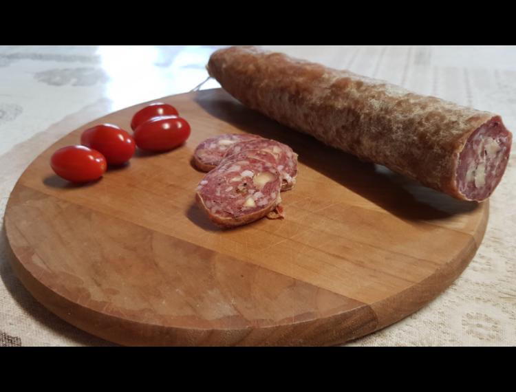 Saucisson sec aux noisette (300gr)