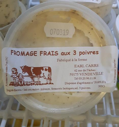 Fromage 3 Poivres