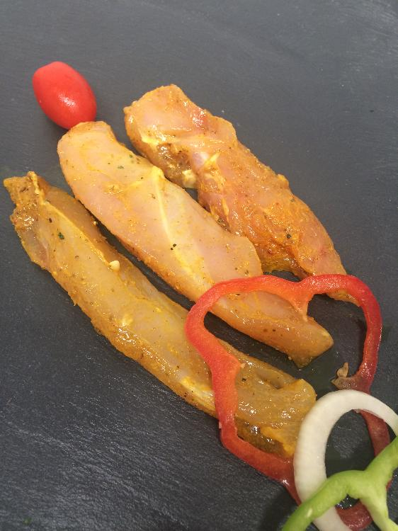 Aiguillette de poulet Curry