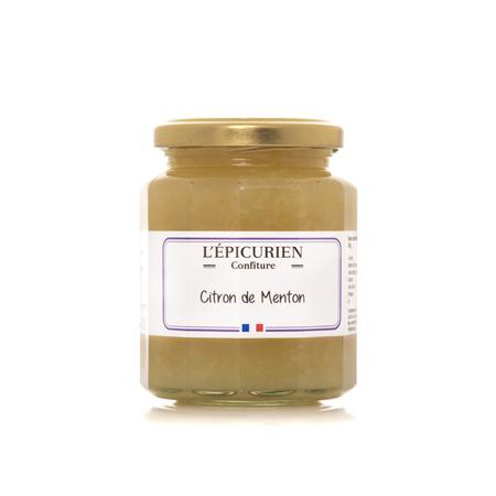 Confiture artisanale Citron de menton