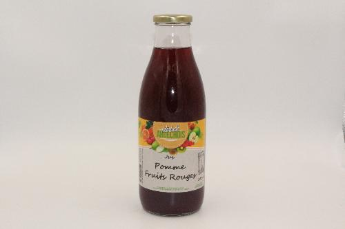 Jus Pomme Fruits Rouge