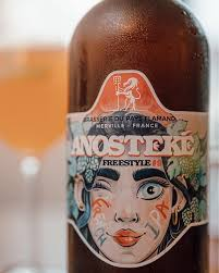 Bière Blonde Free Style 5% French ipa  Anosteke - 75cl