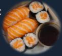 BOX 2 :  4 makis - 2 sushis