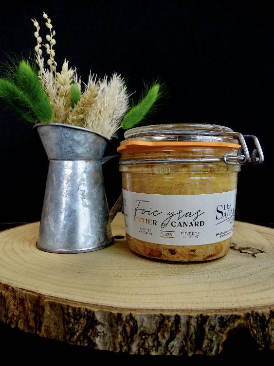 Foie Gras de Canard Entier Pasteurisé 320gr