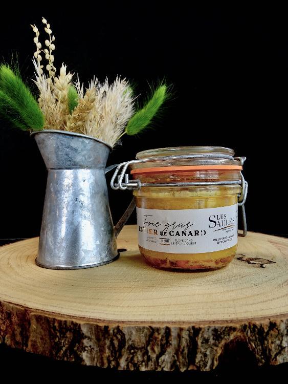 Foie Gras de Canard Entier Pasteurisé 180gr