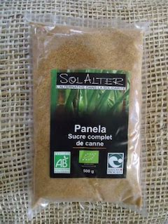 SUCRE CANNE COMPLET 500g - SOLALTER