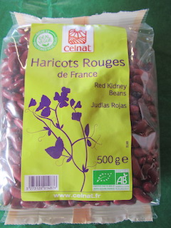 HARICOT ROUGE 500g - CELNAT