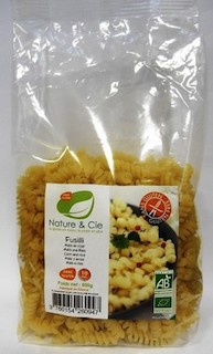PATE FUSILLI 500g - NATURE AND CIE