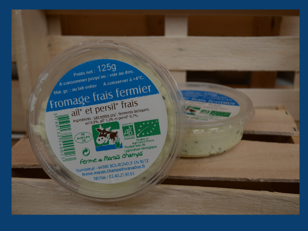 FROMAGE AIL PERSIL - 125G - MARIS CHAMPS